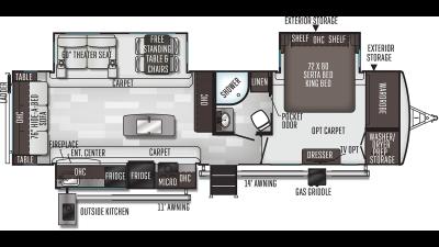 2020 Flagstaff Classic Super Lite 832IKSB - FL2791