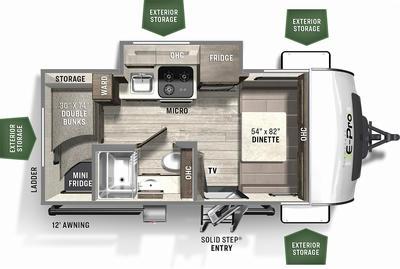 2021 Flagstaff E-Pro 16BH - FL9241