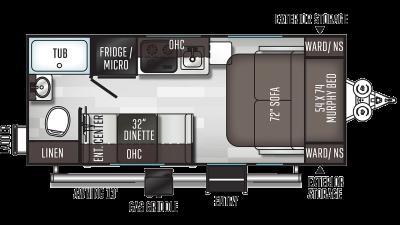 2020 Flagstaff E-Pro 19FD - 010792