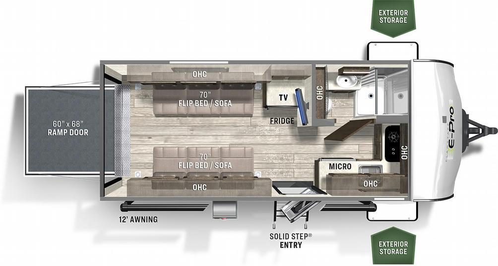 Flagstaff E-Pro 19TH Floor Plan - 2021