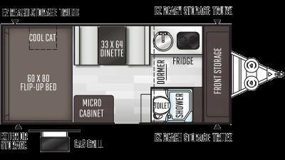 2020 Flagstaff Hard Side 21DMHW - FL5089