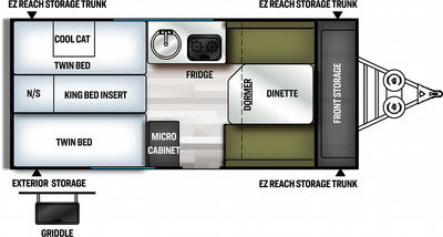 2021 Flagstaff Hard Side 21TBHWOR - FL8458