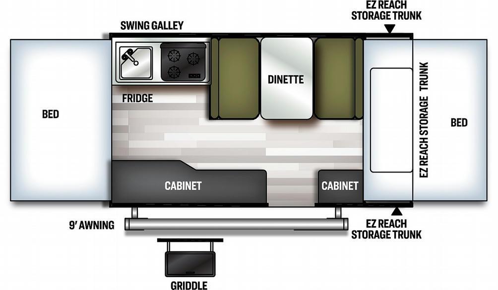 Flagstaff MAC 206M Floor Plan - 2021