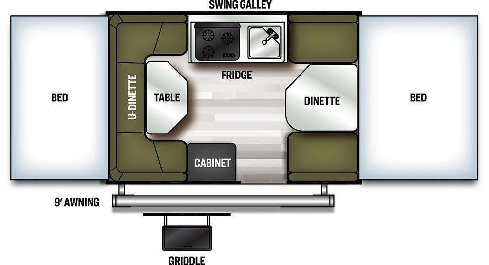 Flagstaff MAC 208 Floor Plan - 2021