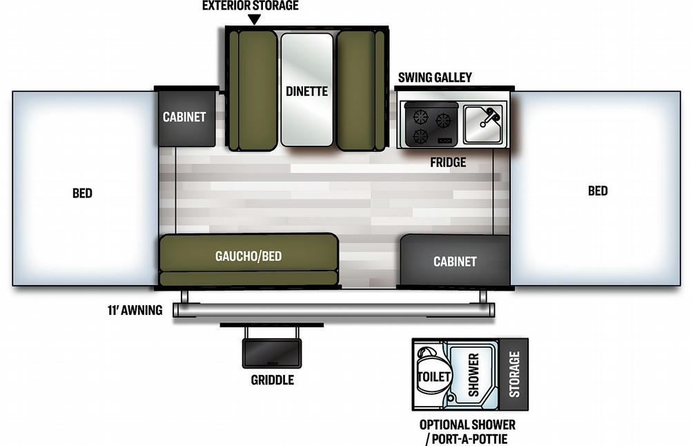Flagstaff MAC 228D Floor Plan - 2021