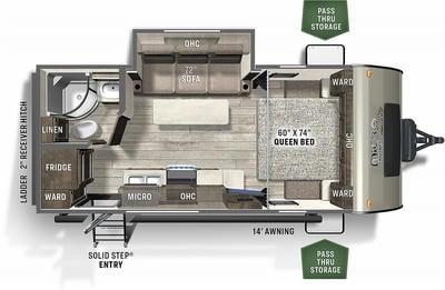2021 Flagstaff Micro Lite 21FBRS - 438855
