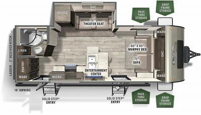 2021 Flagstaff Micro Lite 25FBS - 442637
