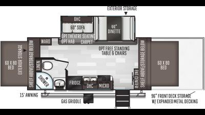 2020 Flagstaff Shamrock 21SSL - FL0381