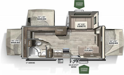 2021 Flagstaff Shamrock 233S - FL6437