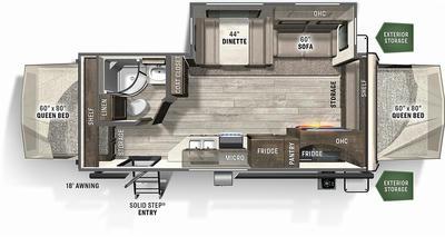 2021 Flagstaff Shamrock 235S - 175002