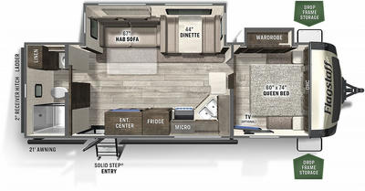 2022 Flagstaff Super Lite 26RBWS - FL5956