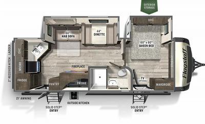 2021 Flagstaff Super Lite 26RKBS - FL0748