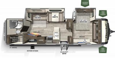 2021 Flagstaff Super Lite 29RBS - 173272