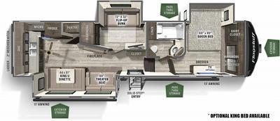 2021 Flagstaff Super Lite 528MBS - 896085