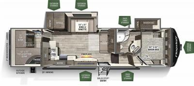 2021 Flagstaff Super Lite 529BH - 894069