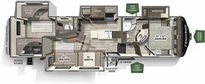 2022 Flagstaff Super Lite 529RBS - FL9804
