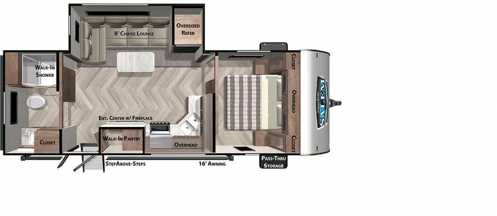 Salem 22RBS Floor Plan - 2021