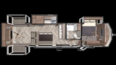 2020 Salem Villa Estate 395RET - 027230