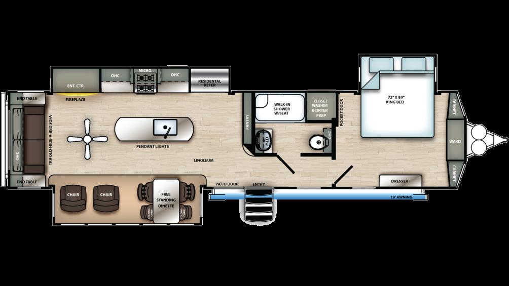 sierra-destination-393rl-floor-plan-2020