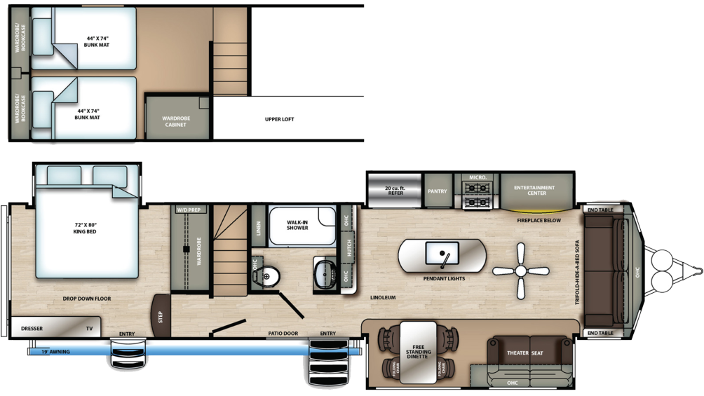 sierra-destination-399loft-floor-plan-2020