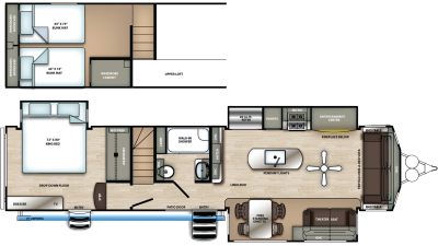 2020 Sierra Destination 399LOFT - SI9306