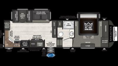 2021 Sprinter Campfire Edition 27FWML - 531328