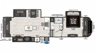2021 Sprinter Limited 3160FWRLS - SP7503