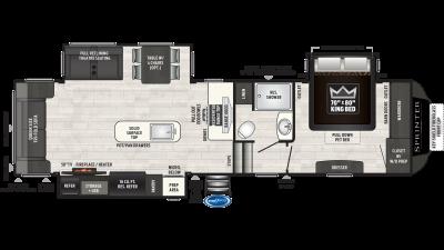 2021 Sprinter Limited 3161FWRLS - SP7096
