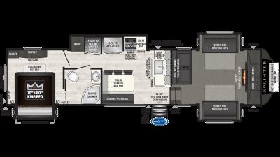 2021 Sprinter Limited 3341FWFLS - SP6324