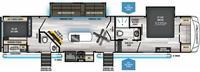 Arctic Wolf 3770Suite Floor Plan - 2021