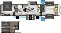 Arctic Wolf 3990Suite Floor Plan - 2021