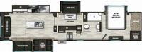 Brookstone 398MBL Floor Plan - 2021