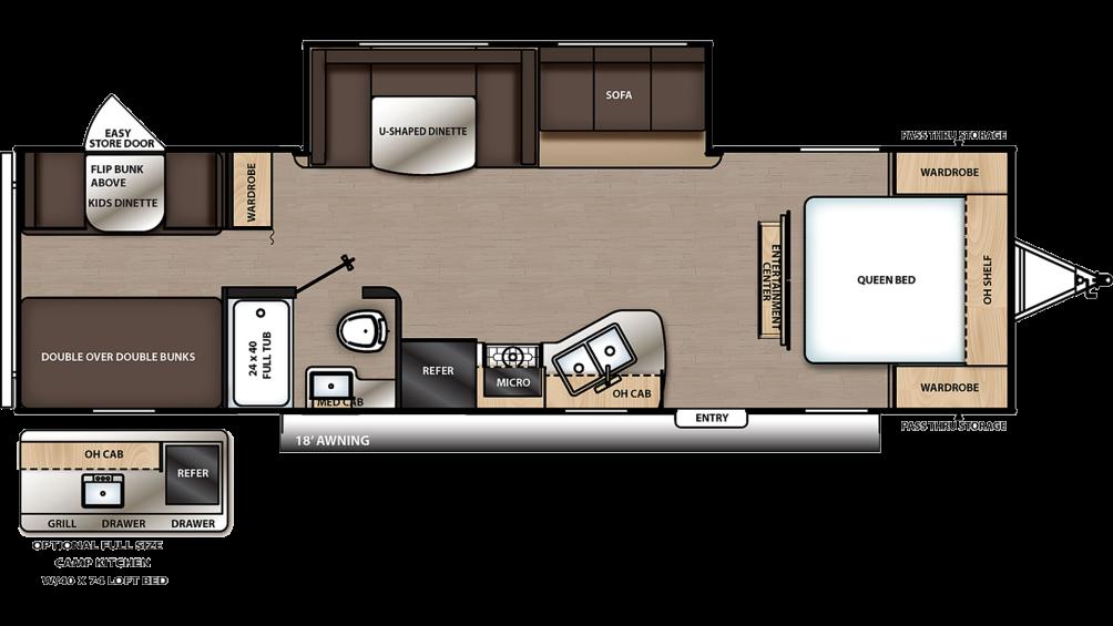 catalina-summit-series-291bhs-floor-plan-2021