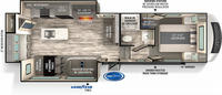 Impressions 270RK Floor Plan - 2022