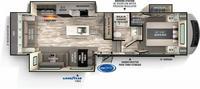 Impressions 280RL Floor Plan - 2022