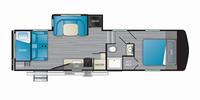 Milestone 28BH Floor Plan - 2021