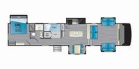 Milestone 370FLMB Floor Plan - 2021