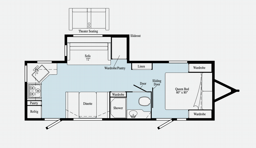 Minnie 2529RG Floor Plan - 2021