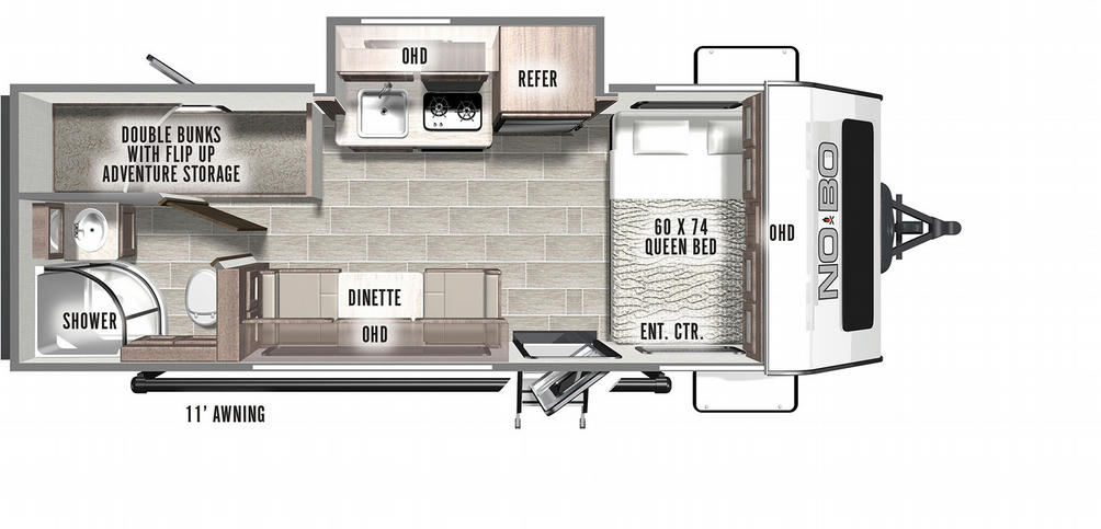 No Boundaries 16.6 Floor Plan - 2021