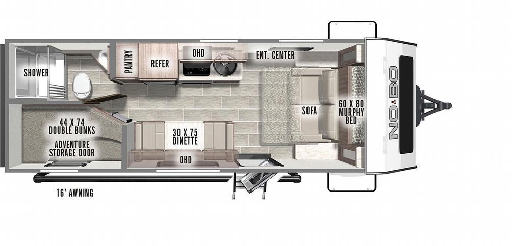 No Boundaries 19.3 Floor Plan - 2021