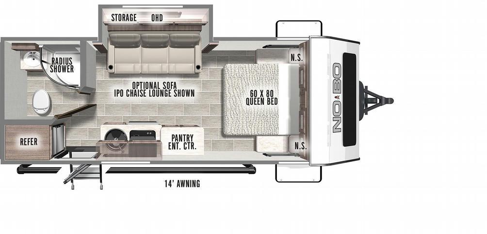 No Boundaries 19.5 Floor Plan - 2021