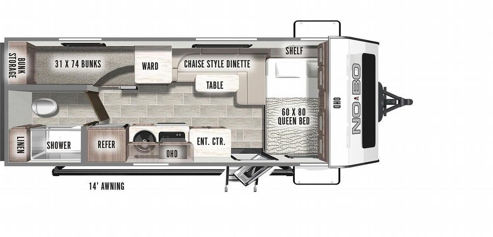No Boundaries 19.7 Floor Plan - 2021