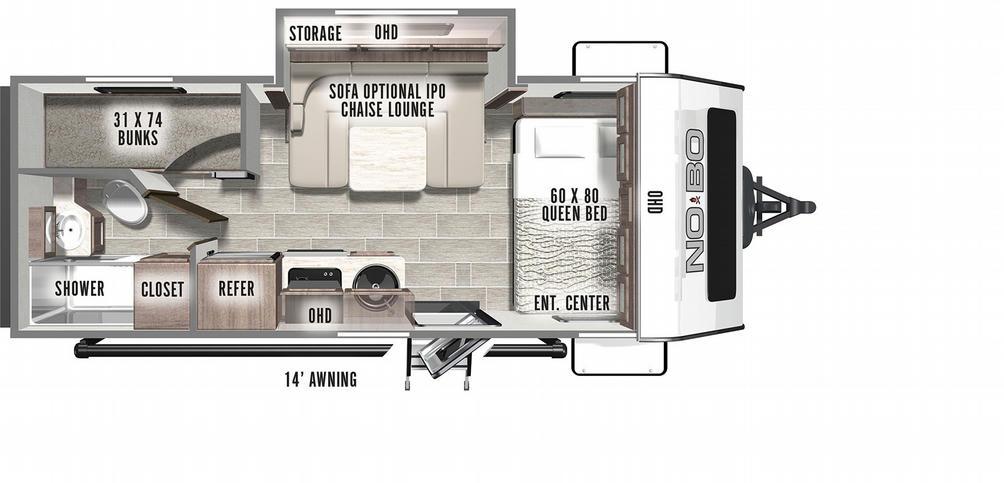 No Boundaries 19.8 Floor Plan - 2021