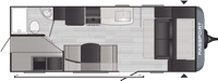 Passport SL Series 219BH Floor Plan - 2021