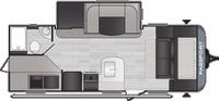 Passport SL Series 221BH Floor Plan - 2021