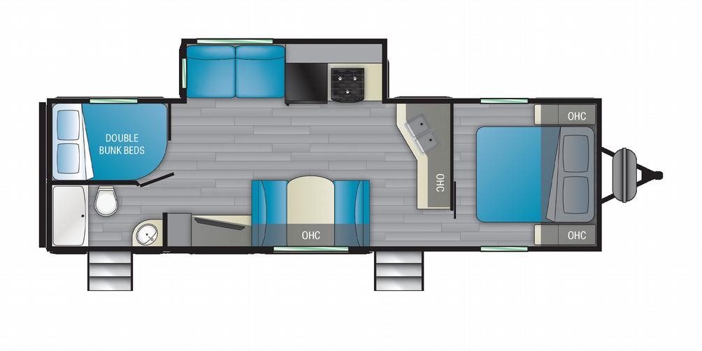 Prowler 290BH Floor Plan - 2021