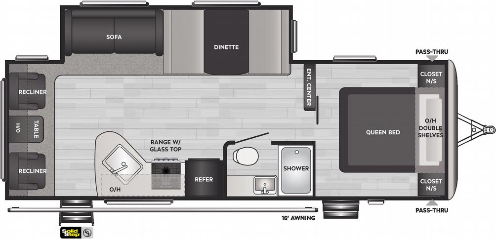 Springdale 266RL Floor Plan - 2021