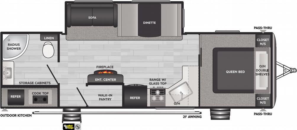 Springdale 274RB Floor Plan - 2021