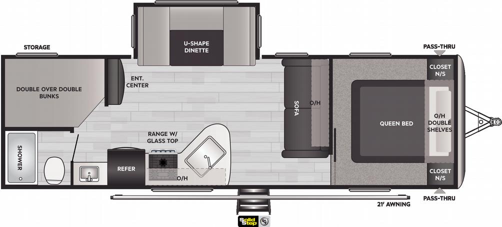 Springdale 275BH Floor Plan - 2021