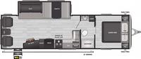 Springdale 285TL  Floor Plan - 2021